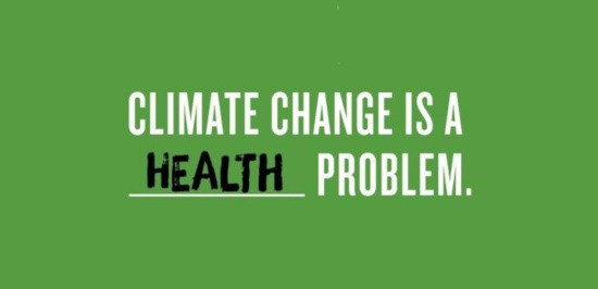 climate change is health problem WHO
